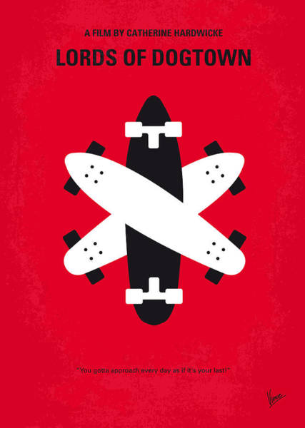 Surf Digital Art - No188 My The Lords Of Dogtown Minimal Movie Poster by Chungkong Art