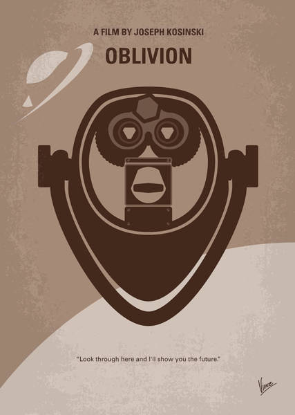 Wall Art - Digital Art - No217 My Oblivion Minimal Movie Poster by Chungkong Art