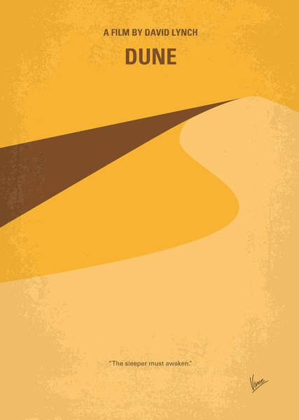 Wall Art - Digital Art - No251 My Dune Minimal Movie Poster by Chungkong Art