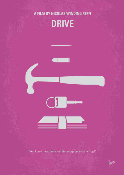 Wall Art - Digital Art - No258 My Drive Minimal Movie Poster by Chungkong Art