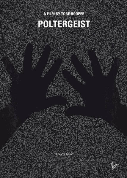 Doll Wall Art - Digital Art - No266 My Poltergeist Minimal Movie Poster by Chungkong Art