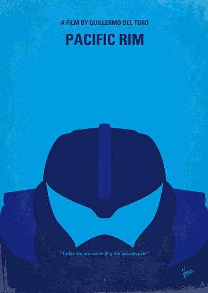 Pacific Wall Art - Digital Art - No306 My Pacific Rim Minimal Movie Poster by Chungkong Art