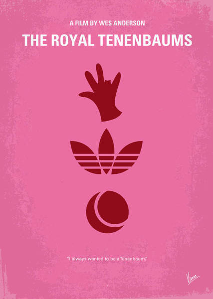 Child Digital Art - No320 My The Royal Tenenbaums Minimal Movie Poster by Chungkong Art