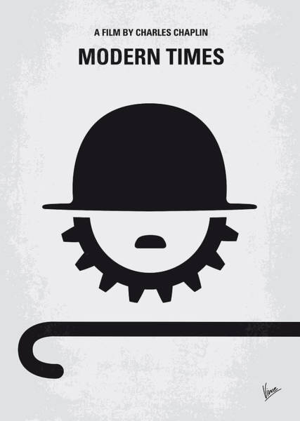 Society Digital Art - No325 My Modern Times Minimal Movie Poster by Chungkong Art