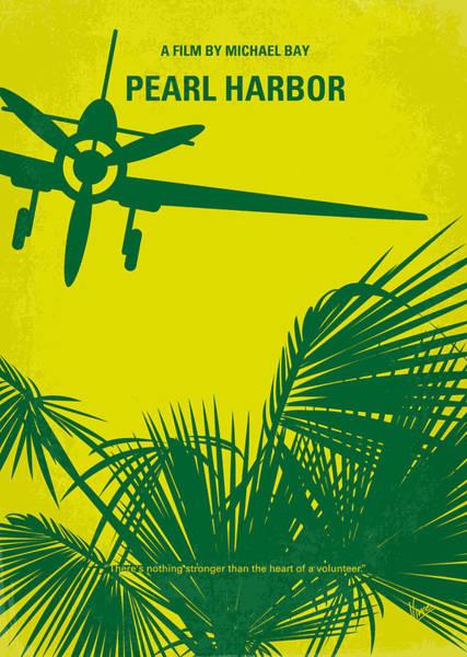 War Digital Art - No335 My Pearl Harbor Minimal Movie Poster by Chungkong Art