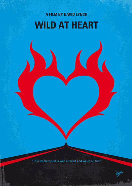 Wall Art - Digital Art - No337 My Wild At Heart Minimal Movie Poster by Chungkong Art