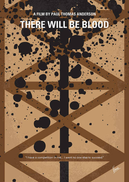 Wall Art - Digital Art - No358 My There Will Be Blood Minimal Movie Poster by Chungkong Art