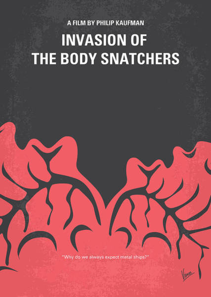 Wall Art - Digital Art - No374 My Invasion Of The Body Snatchers Minimal Movie by Chungkong Art