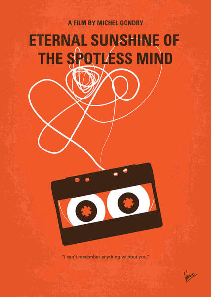 Wall Art - Digital Art - No384 My Eternal Sunshine Of The Spotless Mind Minimal Movie Pos by Chungkong Art