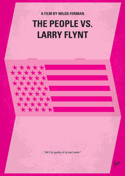 Person Digital Art - No395 My The People Vs Larry Flint Minimal Movie Poster by Chungkong Art
