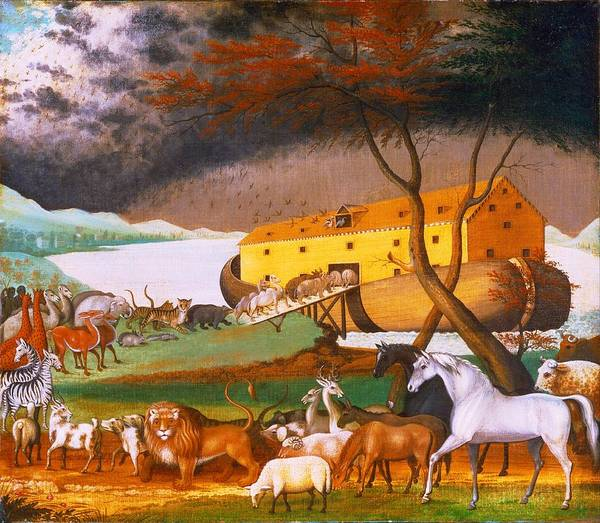 Painting - Noah's Ark by Edward Hicks