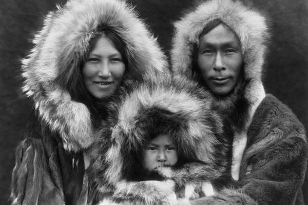 Wall Art - Photograph - Noatak Indians Circa 1929 by Aged Pixel