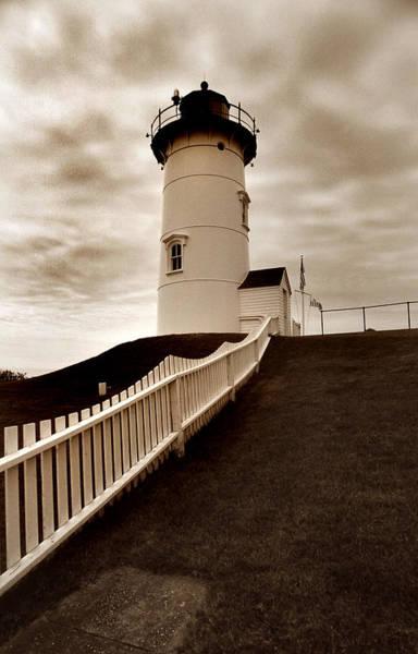 Cape Cod Photograph - Nobska Lighthouse by Skip Willits