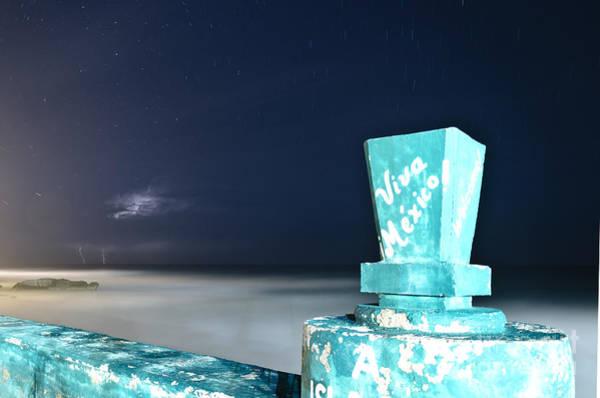 Cielo Wall Art - Photograph - Noche En El Caribe by Agus Aldalur