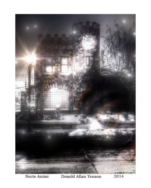 Mount Clemens Photograph - Nocte Animi by Donald Yenson