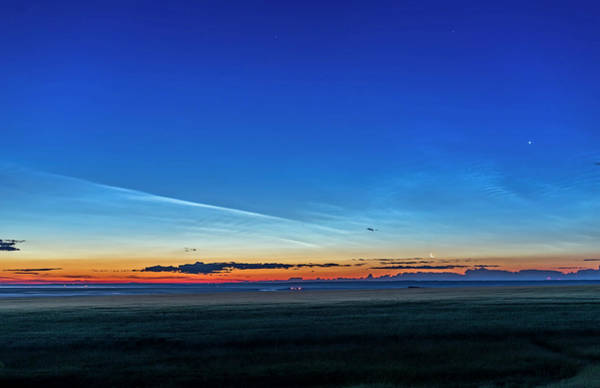 Mesosphere Photograph - Noctilucent Clouds At Dawn by Alan Dyer