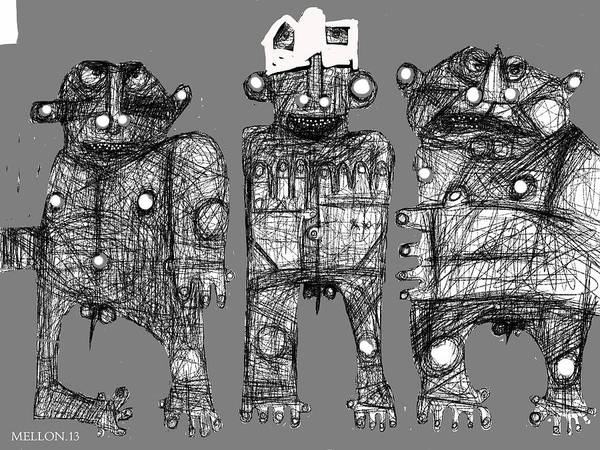 Humanity Digital Art - Noctis No. 6 by Mark M  Mellon