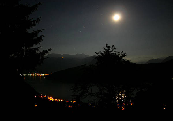 Photograph - Nocturne In Switzerland by Jenny Setchell