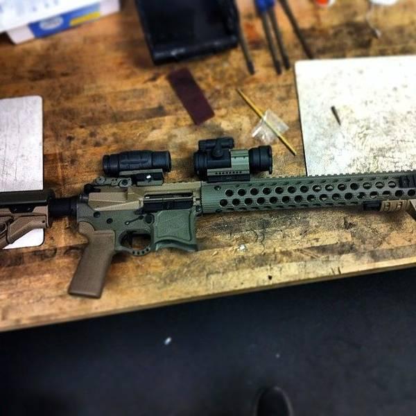 Rifles Photograph - #nofilter #ar #rifle #guns #firearms by Shawn Hope