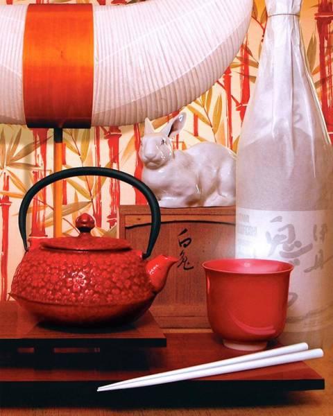 Bottle Photograph - Noguchi Lamp by Danny Evans