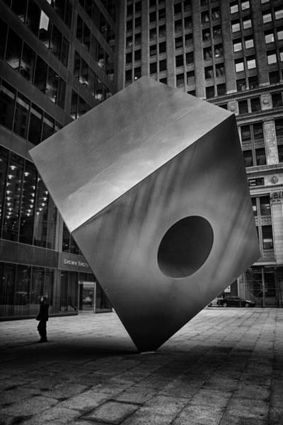 Photograph - Noguchi's Red Cube by Ben Shields