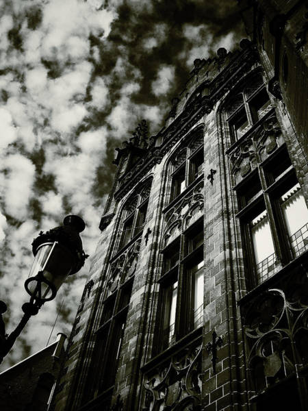 Noir Moment In Brugges Art Print