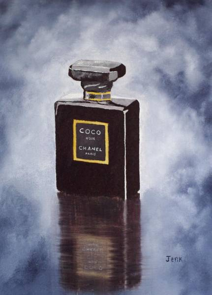 Chanel Number Five Painting - Noir by My Inspiration