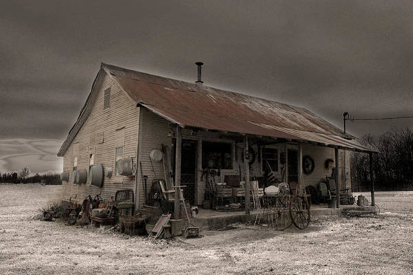 General Dynamics Digital Art - Noland Country Store by William Fields