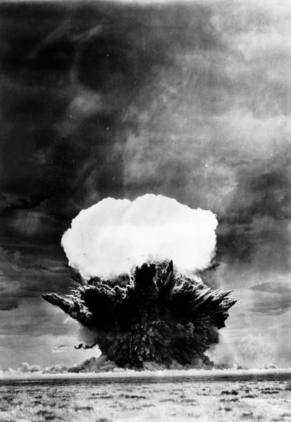 Nuclear Bomb Wall Art - Photograph - Non-nuclear Explosives Testing by Science Photo Library
