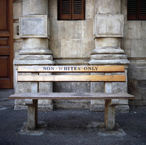 Photograph - Non Whites Only by Shaun Higson
