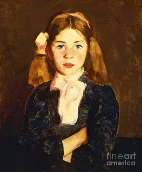Posture Painting - Nora by Robert Henri