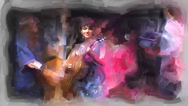 Usha Painting - Norah Jones by Usha Shantharam