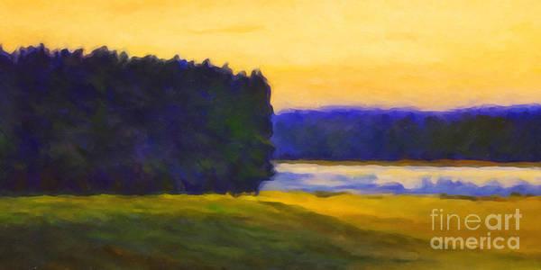 Painting - Nordic Night by Lutz Baar