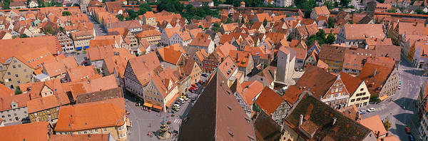 Strasse Photograph - Nordlingen Germany by Panoramic Images