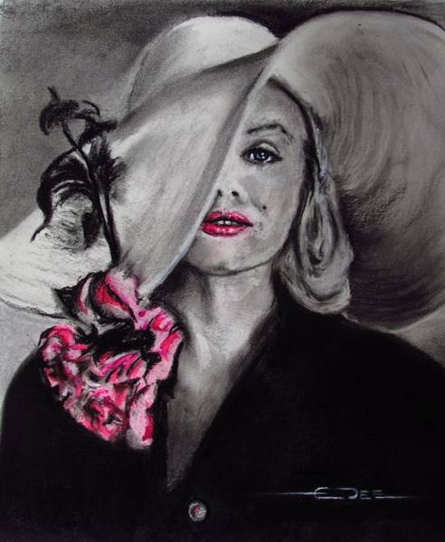 Drawing - Norma Jean by Eric Dee