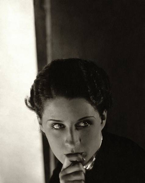 Old People Photograph - Norma Shearer As Kothe Of Old Heidelberg by Edward Steichen