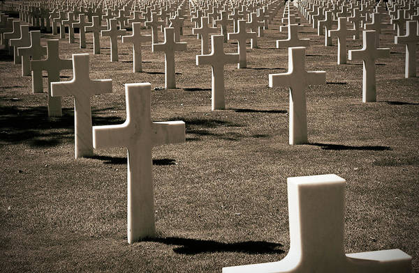 Photograph - Normandy American Cemetery And Memorial by RicardMN Photography