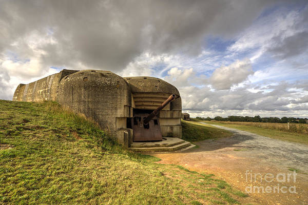 Battery D Photograph - Normandy Gun  by Rob Hawkins