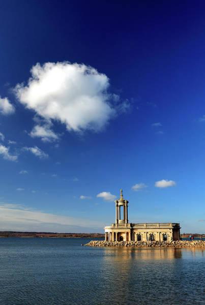 Rutland Photograph - Normanton Church, Rutland Water by Dave Porter Peterborough Uk