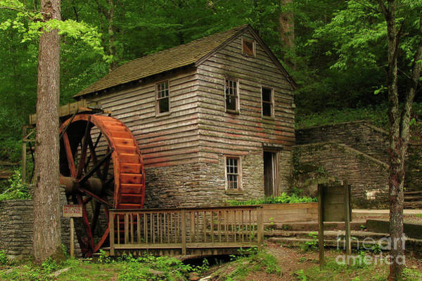 Grist Mill Photograph - Rice Grist Mill by Douglas Stucky