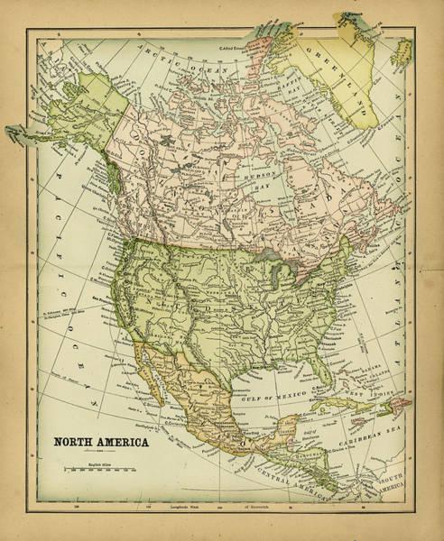 Burn Digital Art - North America 1883 by Thepalmer