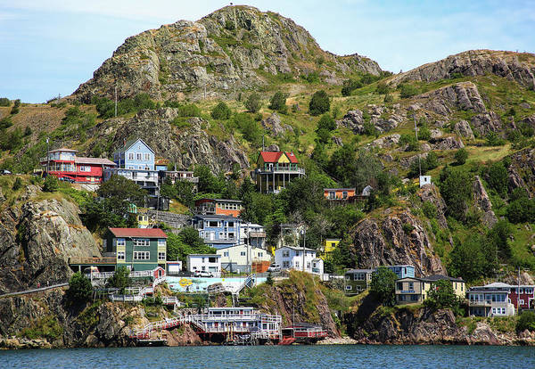 Dwelling Photograph - North America, Canada, Nl, The Battery by Patrick J. Wall
