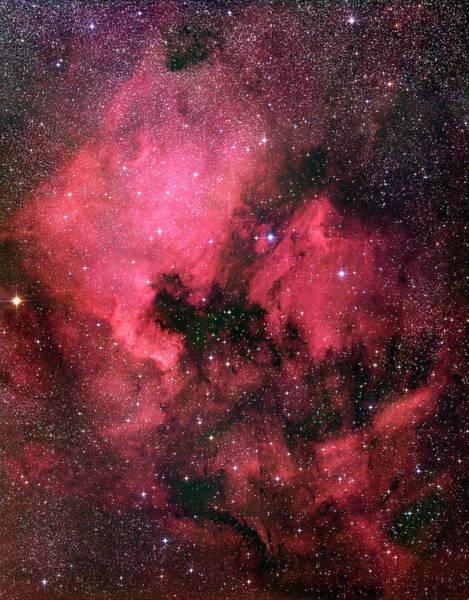 North America Nebula Art Print