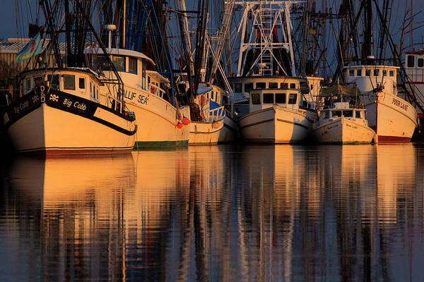 Work Boat Photograph - North America, Usa, Georgia, Shrimp by Joanne Wells