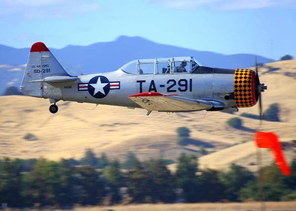 Photograph - North American T6b Fly By by John King