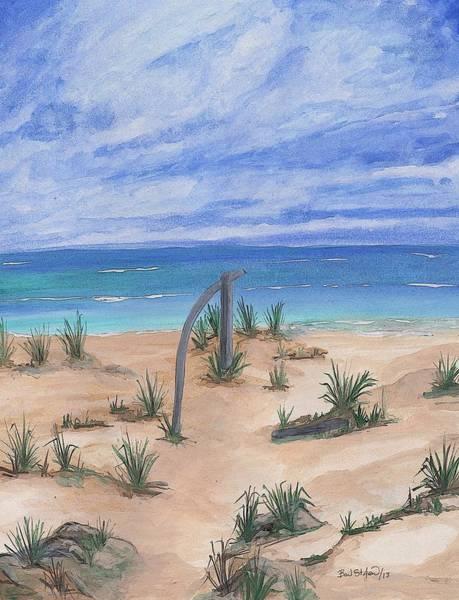 Painting - North Beach Haida Gwaii Bc by Barbara St Jean