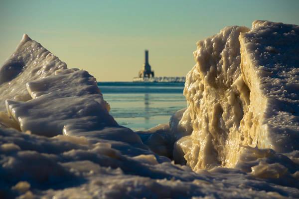 Photograph - North Beach Ice II by James  Meyer