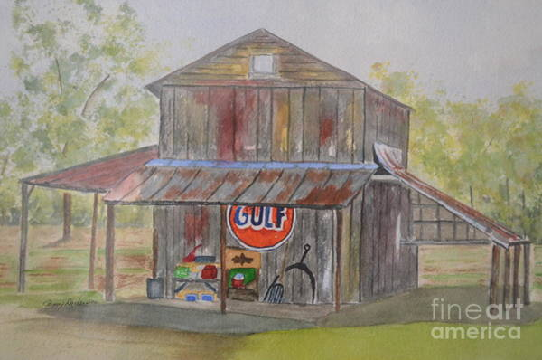 Painting - North Carolina Barn by Peggy Dickerson