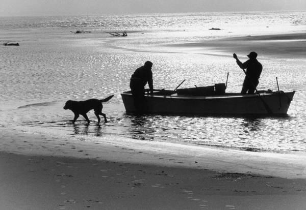 Harkers Island Photograph - North Carolina Fishermen by Bruce Roberts