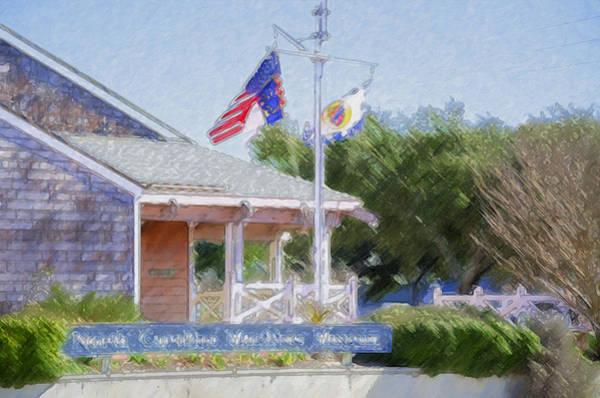 Screw Pile Wall Art - Painting - North Carolina Maritime Museums by Jeelan Clark